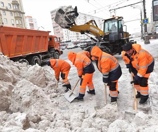 Уборка снега в Белгороде и Белгородской области