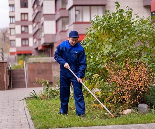 Уборка территории в Белгороде и Белгородской области