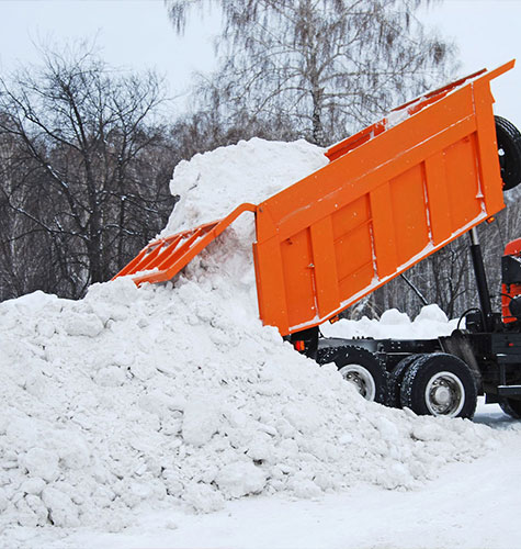 Услуга по уборке снега в Белгороде