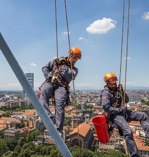 Услуги промышленного альпинизма в Белгороде